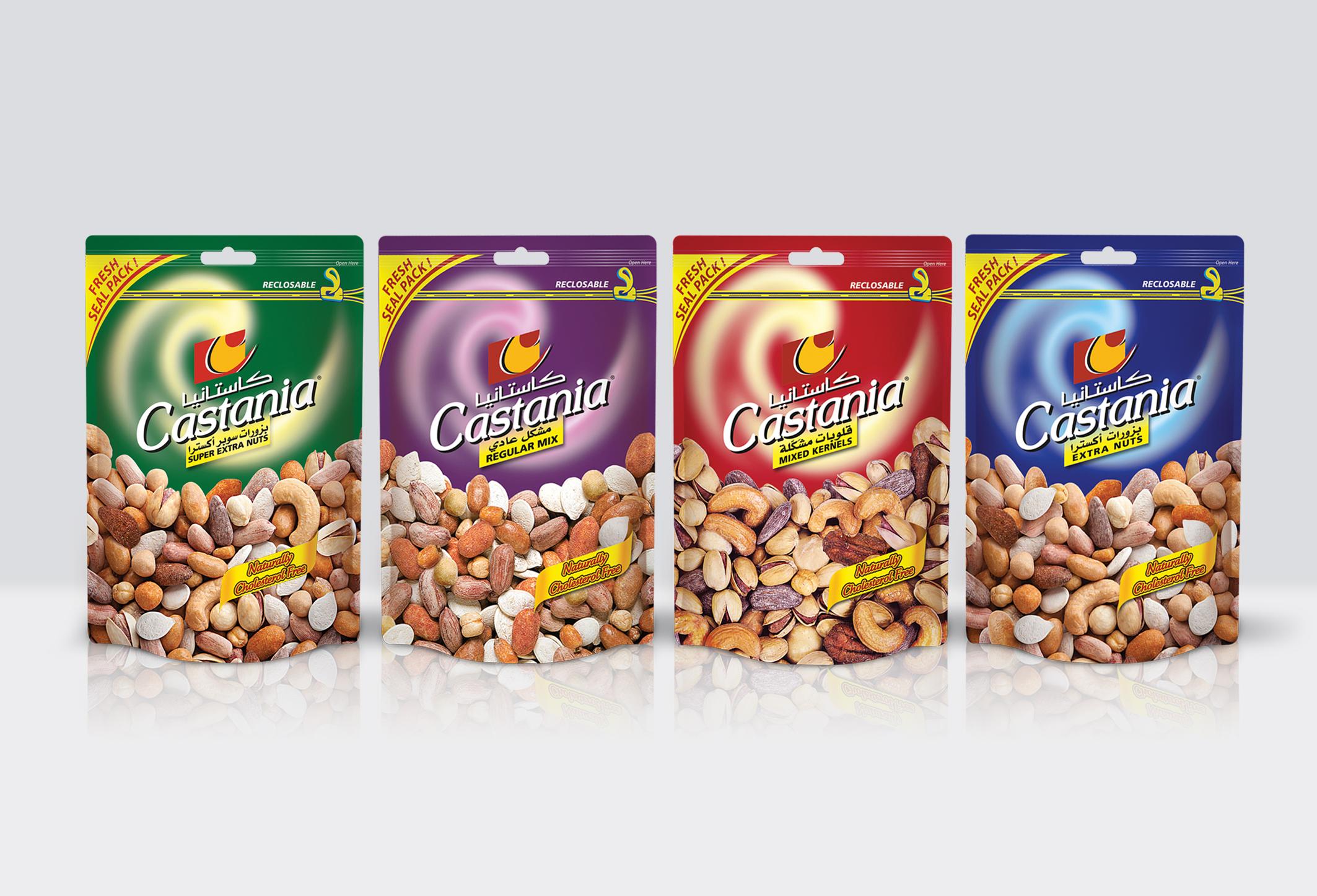 Castania nut bags